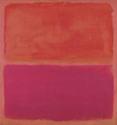 No 3 1967 by Mark Rothko Abstract Warm Colors Red Print Poster 11x14