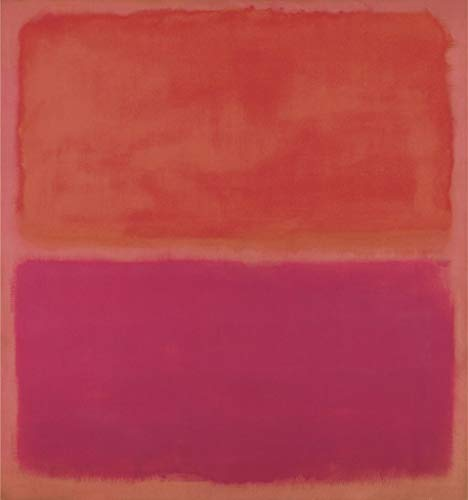 (No. 3 1967 by Mark Rothko Abstract Warm Colors Red Poster (Choose Size of Print) )