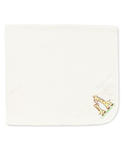 Little Me Baby Boys' Blanket, Ivory, One Size ()