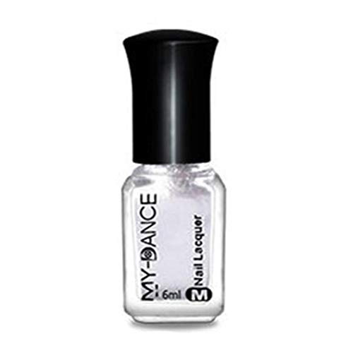 Mirror Chrome Effect Nail Powder No Polish Foil Nails Art Glitter Silver ()