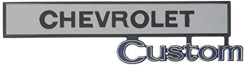 Trim Parts 9670 Truck Glove Box Door Emblem (1969-1972 Chevy