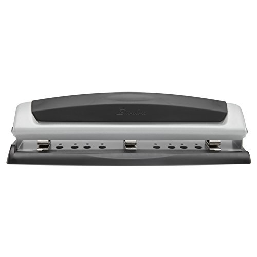 swingline-precision-pro-desktop-2-or-3-hole-punch-10-sheet-capacity-black-and-silver-a7074037a