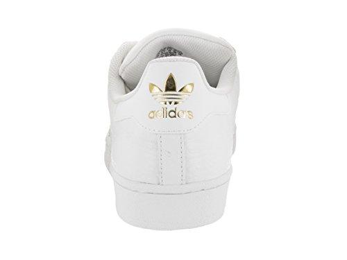 adidas Men's Superstar Originals Ftwwht/Ftwwht/Goldmt Casual Shoe 10.5 Men US outlet the cheapest Kx4snN1