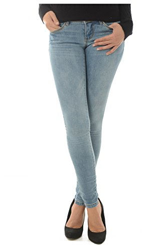Only Jean Stretch Skinny Coral Les Bleus