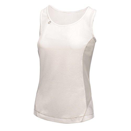 Regatta - Camiseta de tirantes ligera modelo Rio para mujer Blanco/gris