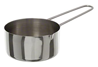 3//4 Cup Stainless Steel Measuring Cup MCW75 American Metalcraft