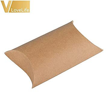 Amazon.com: Kraft bolsas de papel 50 piezas almohada de ...