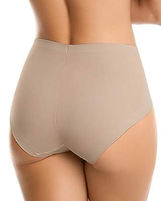 Leonisa Women's Classic No Show Tummy Control Panty Shaper
