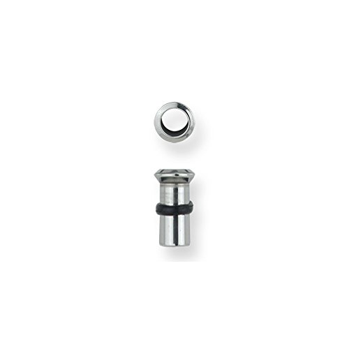 Stainless Stl Plugs & Flesh Tunnels Hardware Theme 4G (5.189mm) Rivet Head
