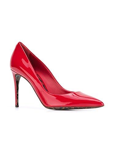 Rouge Cuir Escarpins E Gabbana Femme Dolce CD0039AC06287124 Ow0xPIXqq
