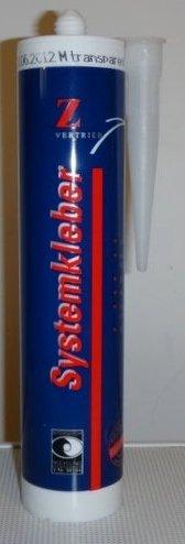 Montagekleber für Taubenabwehr Edelstahl und Polykarbonat transparent