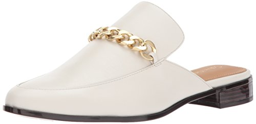 Calvin Klein Women's Frieda Mule, Soft White, 8.5 M US by Calvin Klein