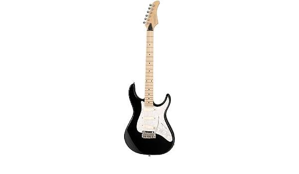 Fernandes RetroRocket Deluxe DG – Guitarra eléctrica, color negro ...