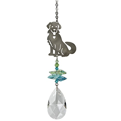 Woodstock Chimes CFDOG Rainbow Makers Suncatchers Crystal Fantasy, Dog