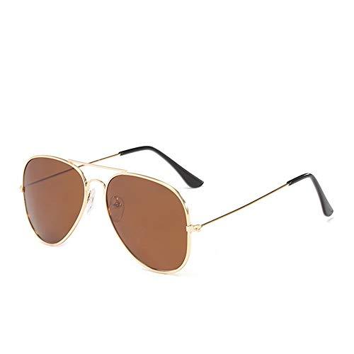 Gafas Golden De Ceniza ZYZHjy Oro Polarizadas Hombres De Sol Tea OnATqB