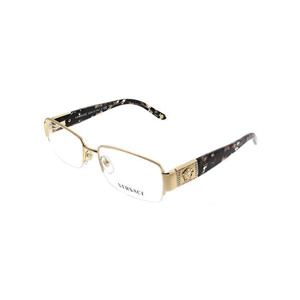 Versace Women's VE1175B Eyeglasses 53mm, Gold, Size 17.0