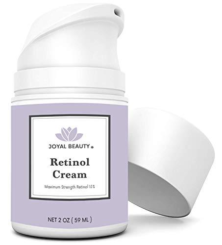 Joyal Beauty Retinol Cream Best Anti-aging Anti-wrinkle Night Moisturizer for Face Neck and Eyes