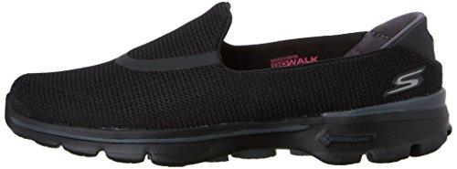 Skechers Performance Women's Go Walk 3 Slip-On Walking Shoe, Black, 7 M US by Skechers (Image #5)
