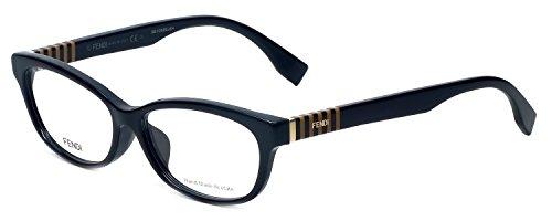 FENDI Eyeglasses FF 0072/F 07Sy Black Penquin ()