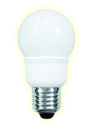 Anjou Connectique - Bombilla y LED - bombilla de bajo consumo tipo fluorescente compacta Multi Globe E27 - 7 W - 285lm - 2700 ° K: Amazon.es: Iluminación