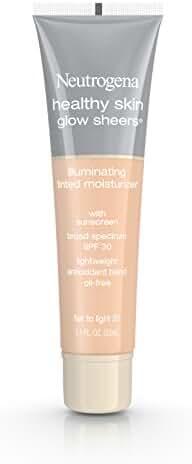 Neutrogena Healthy Skin Glow Sheers Broad Spectrum Spf 30, Fair To Light 20, 1.1 Oz.
