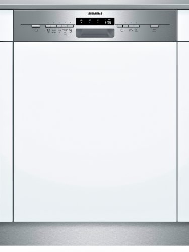 Siemens SX55L581EU iQ500 teilintegrierbarer Geschirrspüler / A++ A / 13 Maßgedecke / 46 db / Edelstahl