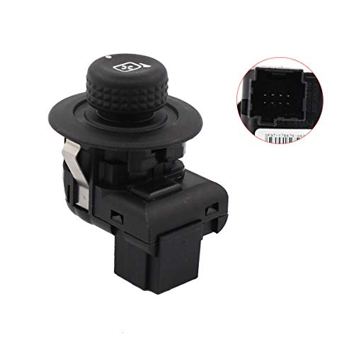 NewYall Front Left Driver Side View Power Door Mirror Control Switch Knob (View Switch Mirror Side)