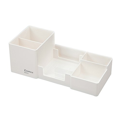Comix 6 Components Desk Organizer (White)