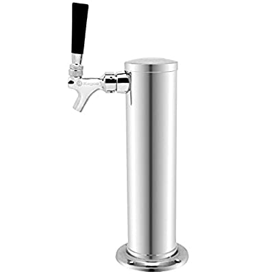 Kegco 12″ Tall Draft Beer Towers – Standard Faucets – Amazon Parent Product