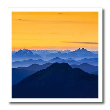 3dRose Danita Delimont - Washington - USA, Washington State. The North Cascades Near Mt. Baker. - 6x6 Iron on Heat Transfer for White Material (ht_315149_2)
