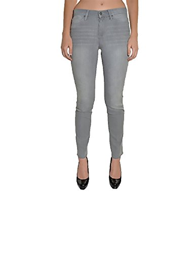 (Calvin Klein Womens Ultimate Skinny Jeans, Grey, 12x30)