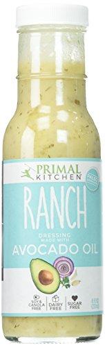Primal Kitchen Dressing Ranch Avocado Oil, 8 Fl Oz (Pack of 6)