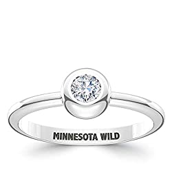Bixler Minnesota Wild Minnesota Wild Engraved Diamond Ring