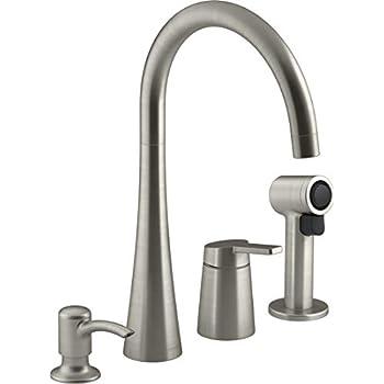 Kohler Koi Vibrant Stainless Kitchen Faucet R23009-SD-VS