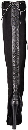 Nine West Womens Brenna Suede Closed Toe Over Knee Fashion Boots Black vKWuG2s698