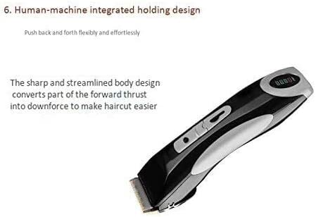 KYLL Powerful Men Powerful Wireless Electric Styling Tools Hair Clipper Hair Trimmer Cutting Mechanism Pruning Rechargeable Professional Hair Clipper Beauty  peGkz