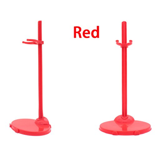Clothing Stand Display Holder for Barbie Doll Toy 8 PCS - 2
