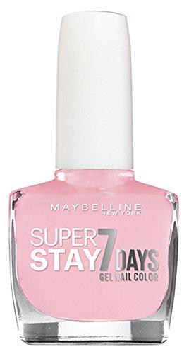 Esmalte de Uñas efecto gel Superstay 7 Maybelline 113 Barely Sheer