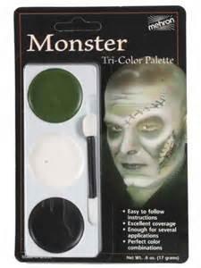 Zombies Makeup Ideas (Mehron 403CFR Tri Color Palettes Monster)