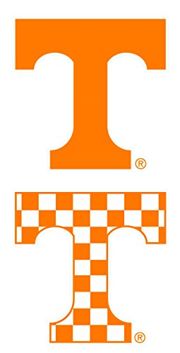 Tennessee Vols Stickers - Tennessee Volunteers Set of 2 Die Cut Decals (4