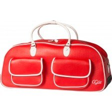 Cgull Cricut Rolling Tote Bag for Expression! Red / White