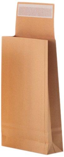 Bong 14335 - Buste a sacco, misura B4 (250 x 353 x 40 mm), grammatura: 120 g/m², carta kraft, chiusura a striscia autoadesiva, confezione da 250 unità, colore: Marrone Bong GmbH