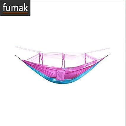 Amazon.com : Swing Chair - Outdoor Mosquito Net Hammock High ...