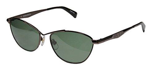 Seraphin Melody Sun Mens/Womens Designer Full-rim Titanium Polarized Lenses Sunglasses/Sun Glasses (56-16-140, - Seraphin Sunglasses