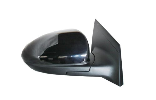 Chevy Black Replacement Mirror (Chevy Cruze Non Heated Power Replacement Passenger Side Mirror)