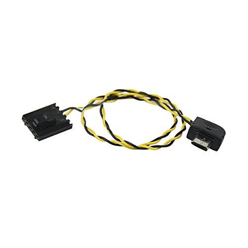 (XiaoYi 24AWG 30cm Silica Gel Dupont 5P Plug USB AV Output Cable)