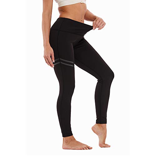 Manufacture Black Leggings for Women High Waisted Yoga Leggings Pants, Workout Compression Leggings for Running Gym Fitness