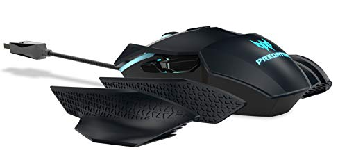 Acer Predator Cestus 500 RGB Gaming Mouse – Dual Omron switches 70M click lifetime, Customizable ambidextrous and…