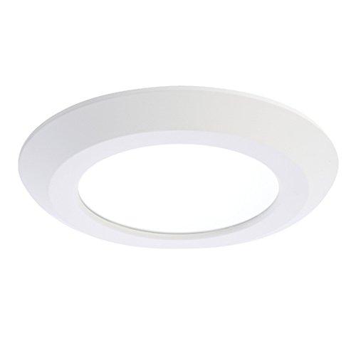 Designer Lighting 120v (Halo SLD606830WHJB  Surface LED Downlight, 6