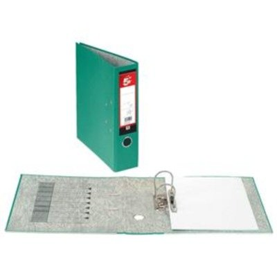 5 Star Office Lever Arch File 70mm Spine A4 Green (Pack of 10)